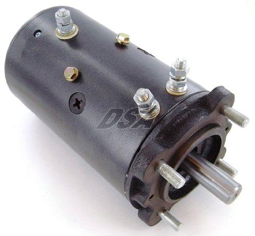 Winch Motor Fits Ramsey Liftmore Hydraulic Pump Bi Directional Heavy Duty 4.8HP Double Ball Bearing 2100 RPM 3-Post 12V (Ramsey Hydraulic Winch)
