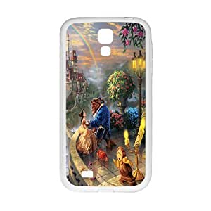 Cool painting Beauty and the Beast Cell Phone Case for Samsung Galaxy S4 by icecream design