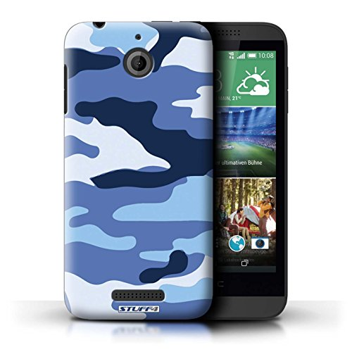 Coque de Stuff4 / Coque pour HTC Desire 510 / Bleue 2 Design / Armée/Camouflage Collection