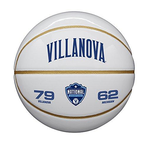 - Wilson Sporting Goods WTB0591IDCHP18A NCAA National Championship basketballs, Black/White
