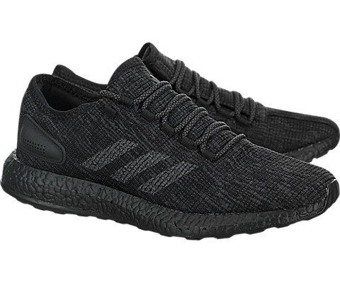 Pictures of adidas Pureboost Shoe Men's Running BB6288 Core Black/Solid Grey 5