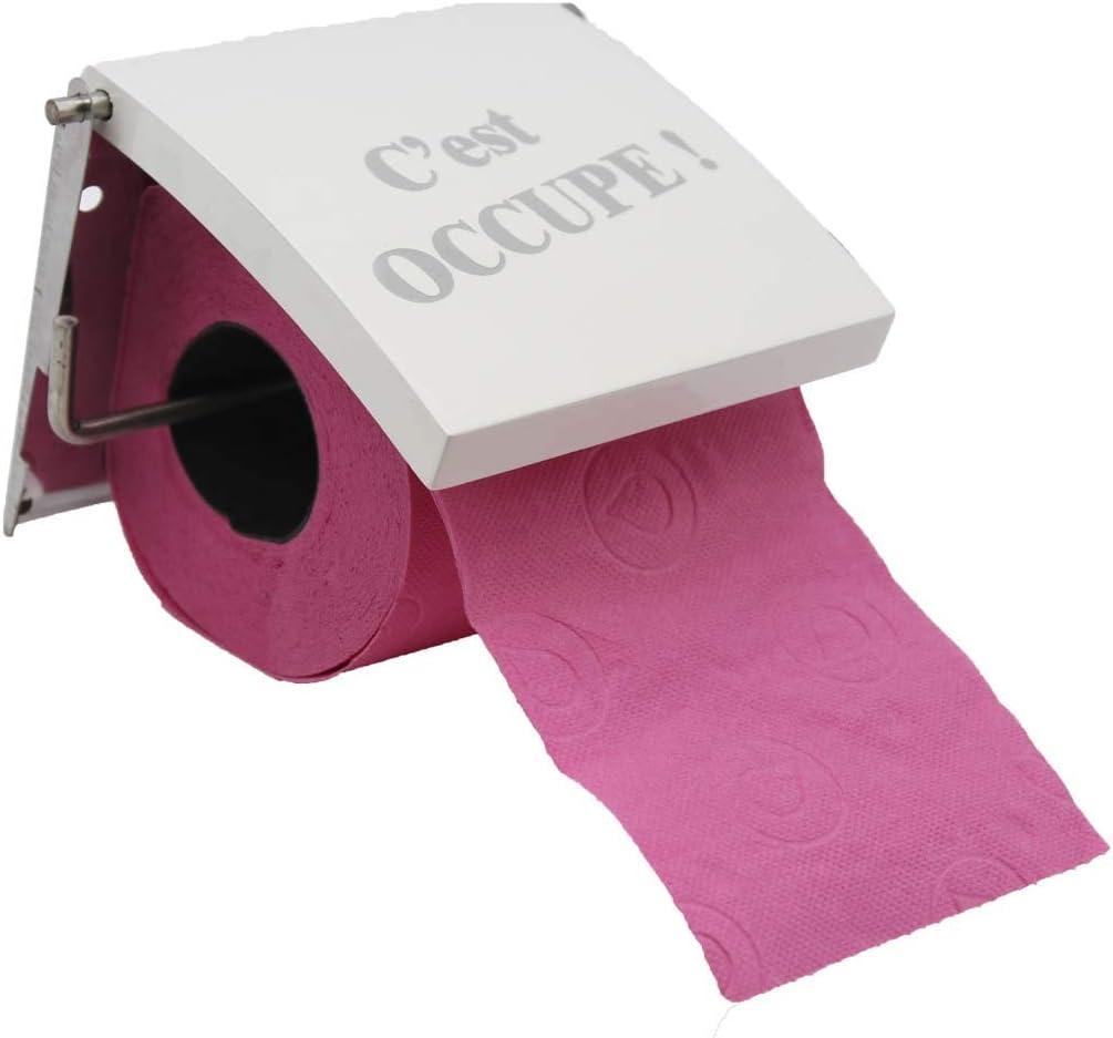 Photoprint Metal Toilet Bowl Brush Holder French 2cv Car