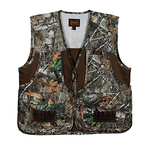 (Gamehide Camo Front Loading Upland Dove Hunting Vest with Camo Back)