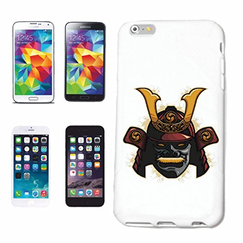 "cas de téléphone iPhone 6S ""SKULL WARRIOR SHANGHAI FIGHTER SKULL BIKER SHIRT SKULL BIKER SHIRT GOTHIQUE BIKE CLUB MC MOTO CHOPPER CUSTOM MOTO MOTO CLUB REUNION REUNION"" Hard Case Cover Téléphone Cover"