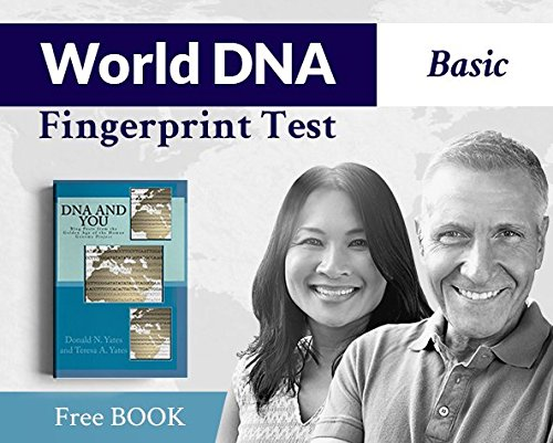 Basic World DNA Fingerprint Test with Bonus Book