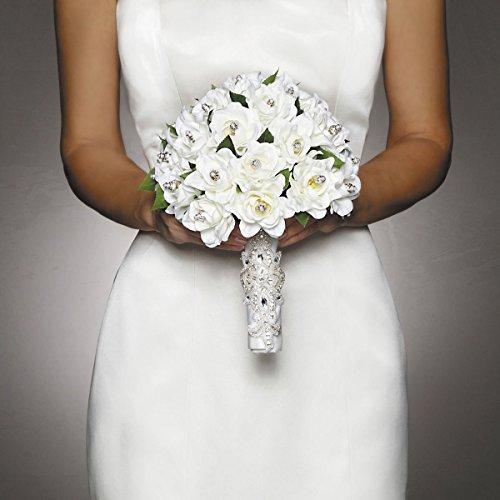 David Tutera Applique Bouquet Wrap