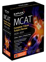 MCAT Complete 7-Book Subject Review 2020-2021: Online   Book   3 Practice Tests