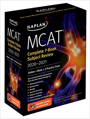MCAT Complete 7-Book Subject Review 2020-2021: Online + Book