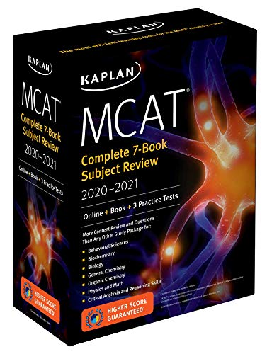 MCAT Complete 7-Book Subject Rev...