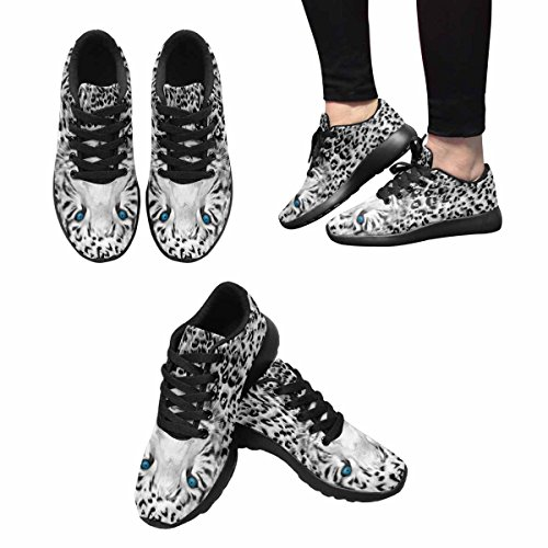InterestPrint Womens Jogging Running Sneaker Lightweight Go Easy Walking Casual Comfort Running Shoes Wild Animal Tiger Multi 1 BEhVZR