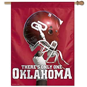 NCAA Oklahoma Sooners 27-by-37-Inch Vertical Flag