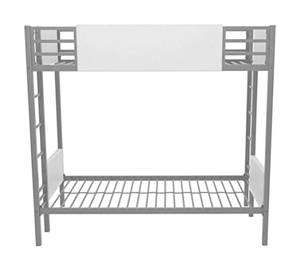 Amazon Com Bunk Bed Frame Twin Over Twin High Clearance Faux
