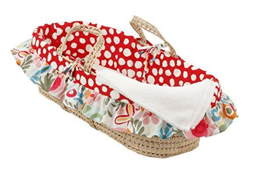 Cotton Tale Designs Moses Basket, Lizzie by Cotton Tale Designs