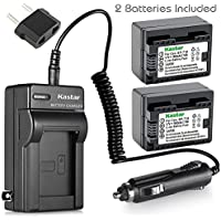Kastar Battery 2-Pack and Charger for Canon BP-718 BP-727BP-709 CG-700 and VIXIA HF M50 HF M52 HF M500 HF R30 HF R32 HF R40 HF R42 HF R50 HF R52 HF R60 HF R62 HF R300 HF R400 HF R500 HF R600