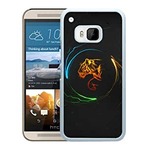 New Beautiful Custom Designed Cover Case For HTC ONE M9 With Multicolor Tigers (2) Phone Case