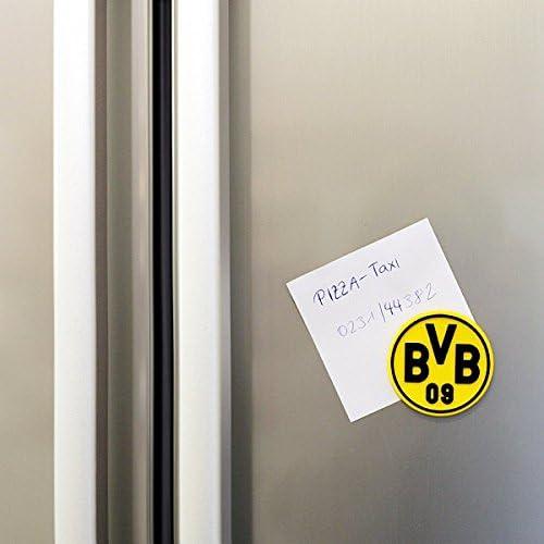 one Size Borussia Dortmund BVB-Magnet 3D schwarz//Gelb