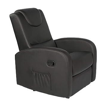 Sillon-Relax - Respaldo/piés reclinables con Palanca ...