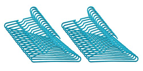 Delta Children 30 Pack Infant & Toddler Hangers, Turquoise