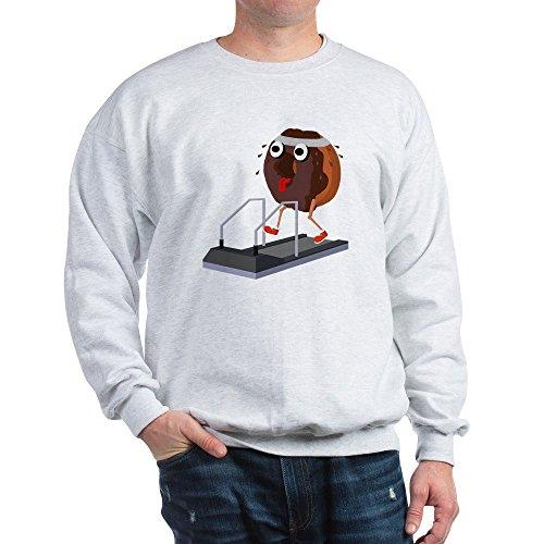 Classic Treadmill (CafePress - Chocolate Doughnut on a Treadmill Sweatshirt - Classic Crew Neck Sweatshirt)