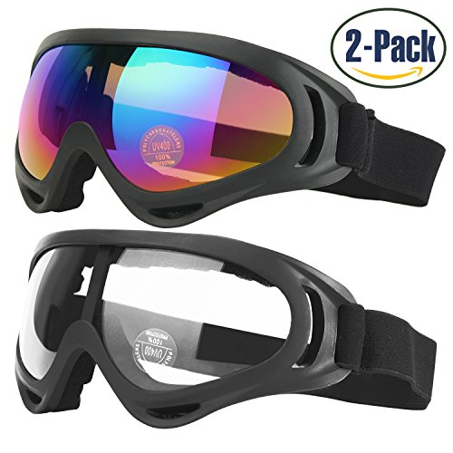 ski-goggles-2-pack-skate-glasses-for-kids-boys-girls-youth-men-women-with-uv-400-protection-wind-res