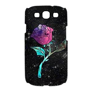 Mystic Zone Beauty and The Beast Samsung Galaxy S3 Cases for Samsung Galaxy S3 Hard Cover Cartoon Fits Case HH0803