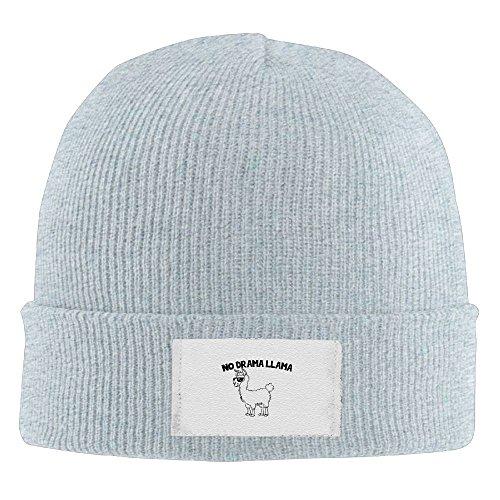 JJZ Mens No Drama Llama Sunglasses Winter Beanie Hat Skull Cap - Where Buy I Sunglasses Can