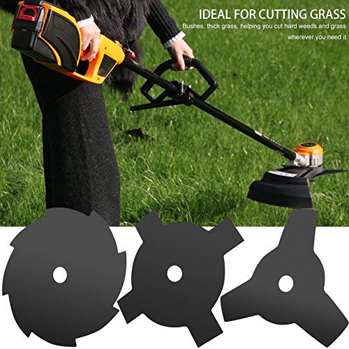 Funarrow Trimmer Head Cutter 3/4/8 Steel Blades Razors 65Mn Lawn Mower Accessory Grass Tool Fit Lawn Mower Garden Lawn Agricultural - Tractor Agricultural