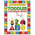 My Numbers Colors And Shapes Toddler Coloring Book With The Learning Bugs Fun Children S Activity Coloring Books For Toddlers And Kids Ages 2 3 4 5 For Kindergarten Preschool Prep Success