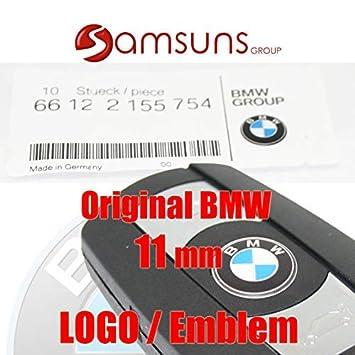 Emblema adhesivo de BMW, 66122155754, para llave con control remoto: Amazon.es: Coche y moto