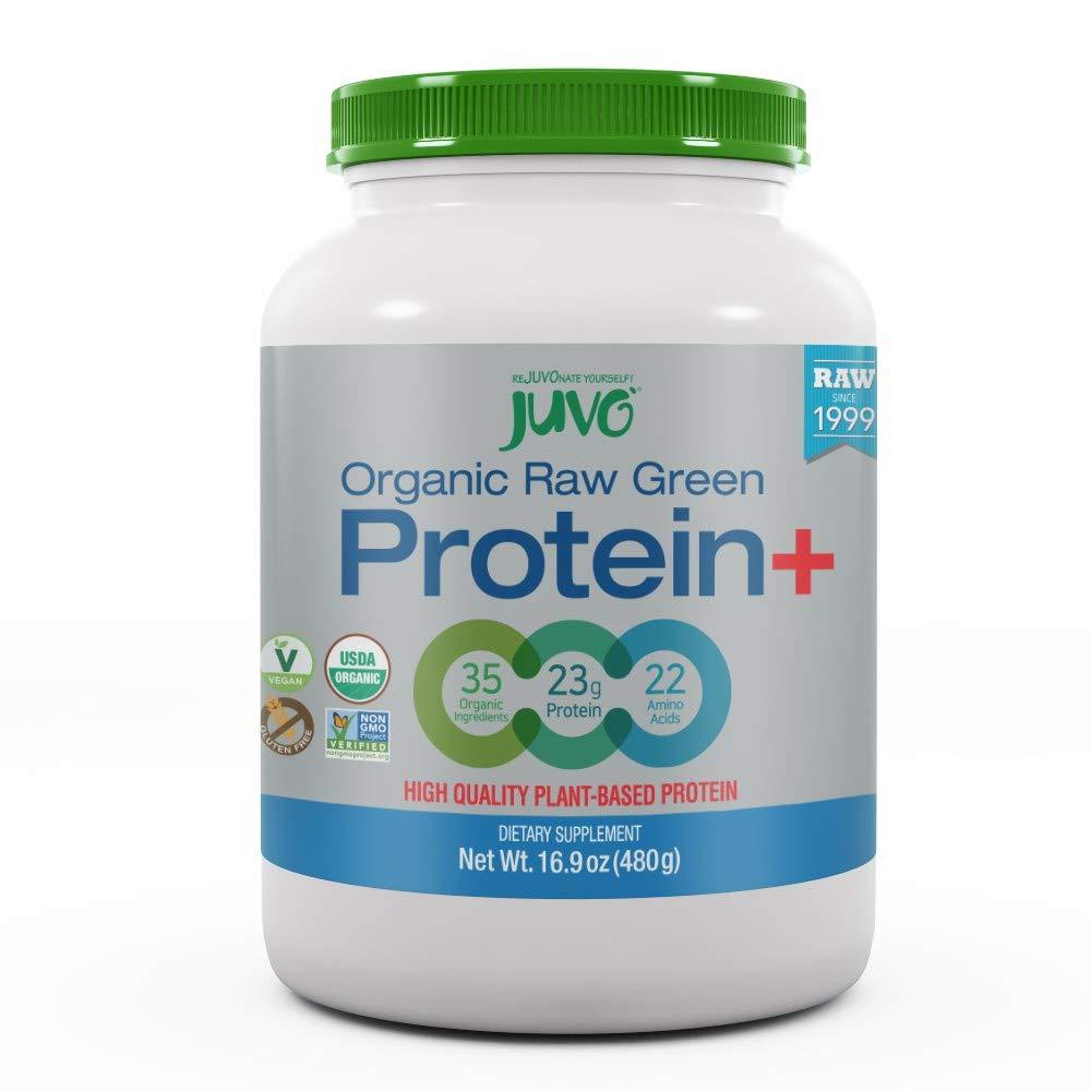 JUVO Raw Green Protein, 16.9 Ounce