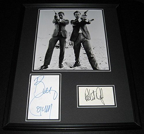 I Spy Cast Signed Framed 16x20 Photo Display Bill Cosby & Robert Culp - JSA (Bill Cosby Robert Culp Photo)