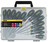 Stanley - Fatmax Screwdriver Set Parallel/Flared /Phillips /Pozi 12 Piece