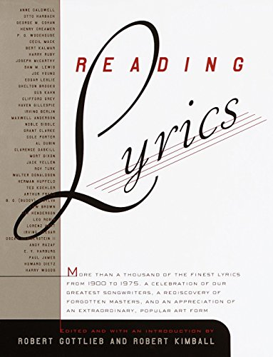 Reading Lyrics