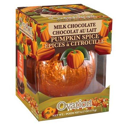 Ovation Milk Chocolate Pumpkin Spice Break a Part Ball 6.17 oz.: 1 Count