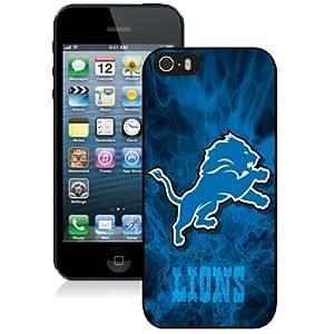 Detroit Lions Black Best Sale Fantastic iPhone 5S Cover Case