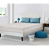 Ecos Living 13 Inch Firm Support Memory Foam Euro Box Top Spring Mattress (Queen)