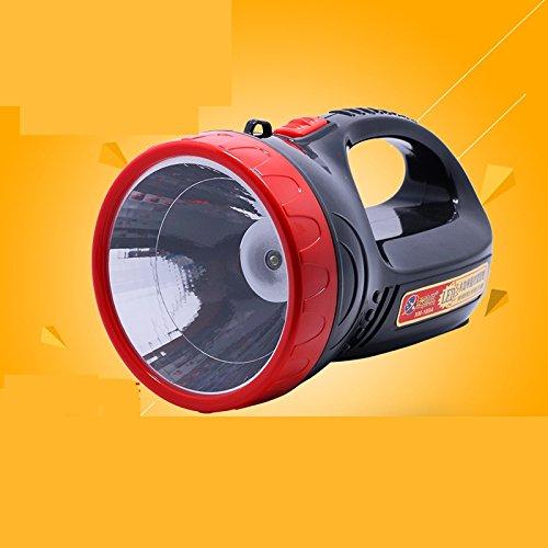LED di ricarica portatile a lungo raggio famiglia all'aperto notte pesca sicurezza pattuglia ad alta potenza di emergenza faro