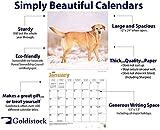 "Goldistock 2020 Large Wall Calendar -""Yellow"