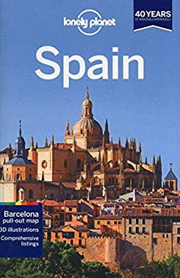 Lonely Planet Spain (Travel Guide): Lonely Planet, Anthony