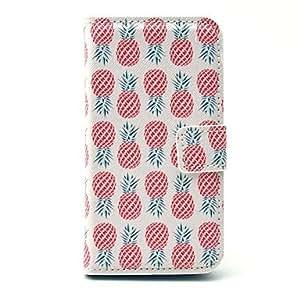 Pineapple Pattern Plastic Hard Case for Motorala Moto G