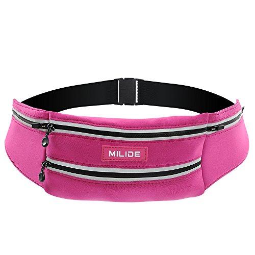 Waist bags women travel waist bag (Pink) - 7