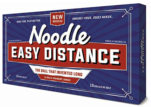 Taylor Made 2018 Noodle Easy Distance Golf Balls #1-#4 15-Ball Pack