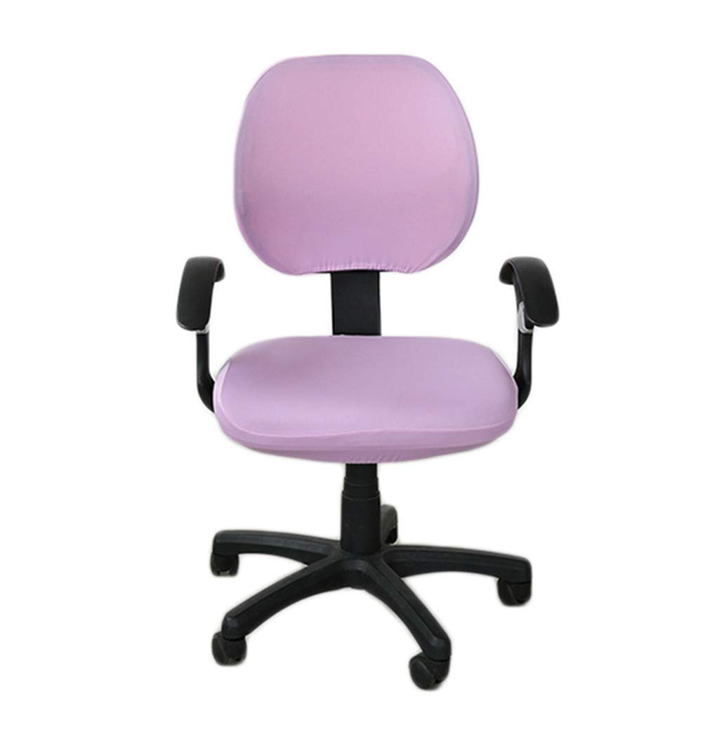 Deisy Dee Universal Computer Office Rotating Stretch Polyester Chair Cover C042 (style 8)