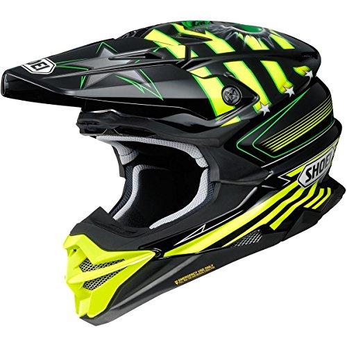 Shoei VFX-EVO Helmet - Grant 3 (Medium) - Cheek Replacement Pads Option