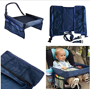 Baby Kids Safety Snack Car Seat Table Play Travel Tray Drawing Board Waterproof