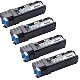 Do It Wiser Compatible Toner Cartridge Set Replacement For Dell 2150CN 2150CDN 2155CN 2155CDN – (Black Cyan Magenta Yellow – 331-0719 331-0716 331-0717 331-0718 – 3,000 Pages), Office Central