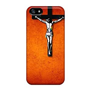New Arrival GsqOFwQ382ZZnQh Premium Iphone 5/5s Case(jesus On Cross)