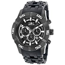 Invicta Men's Sea Spider 21820 Silver Plastic Swiss Chronograph Fashion Watch