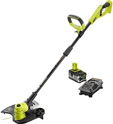 Ryobi P2080 ONE 18-Volt Lithium-Ion Cordless String Trimmer Edger P108 P118 New In Box