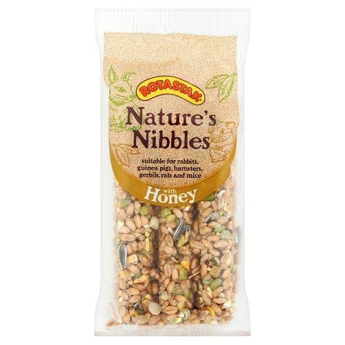 Nibble Stick - (ROTASTAK) Small Animal Treats Honey Nut Nibble Sticks (3 Bars)